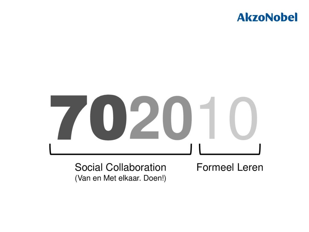 702010 Formeel Leren Social Collaboration (Van ...