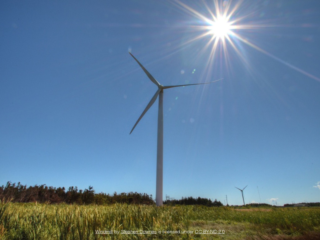 Windmill by Stephen Downes is licensed under CC...