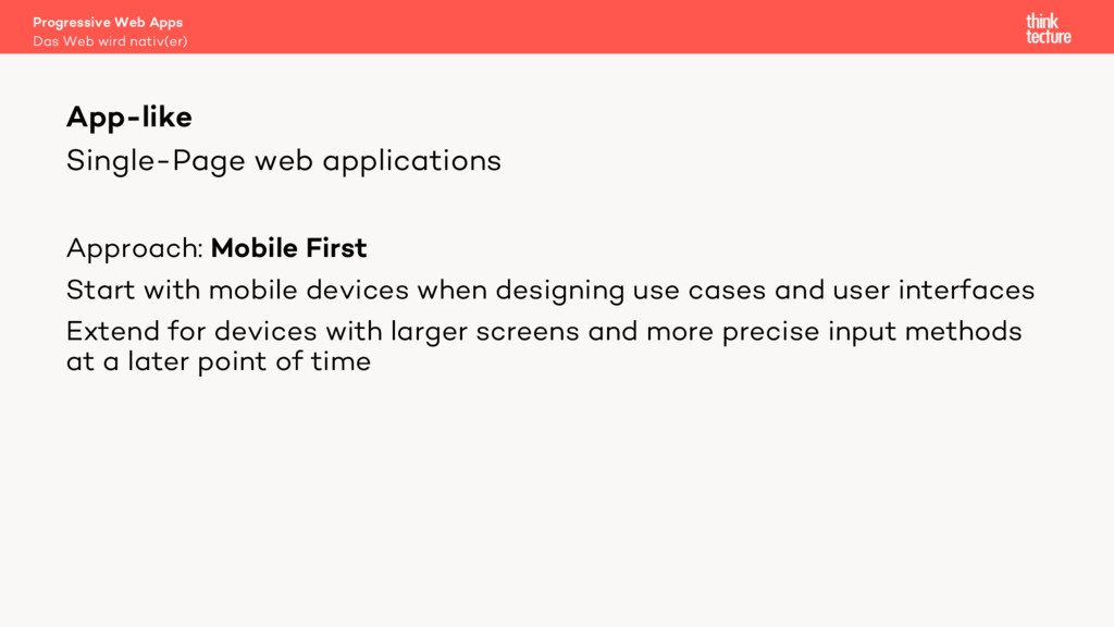 Single-Page web applications Approach: Mobile F...