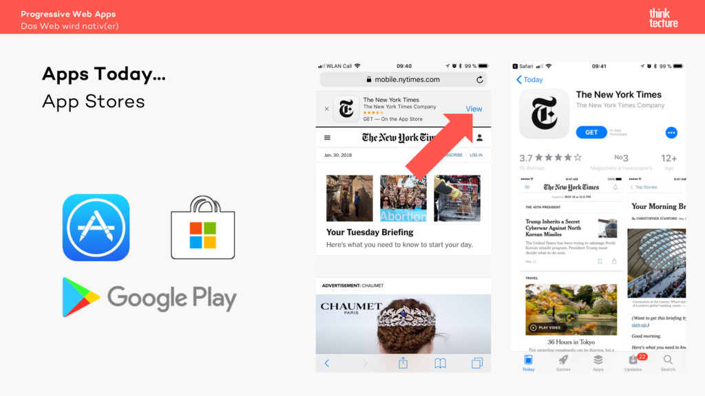 App Stores Apps Today… Das Web wird nativ(er) P...