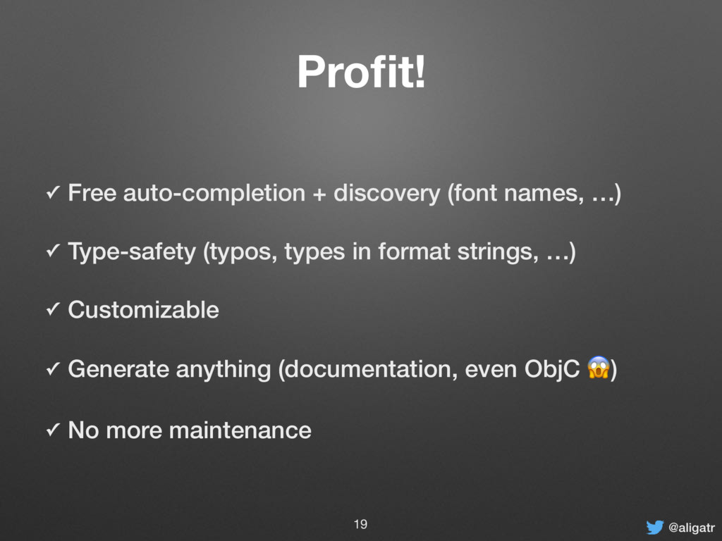 @aligatr Profit! ✓ Free auto-completion + discov...