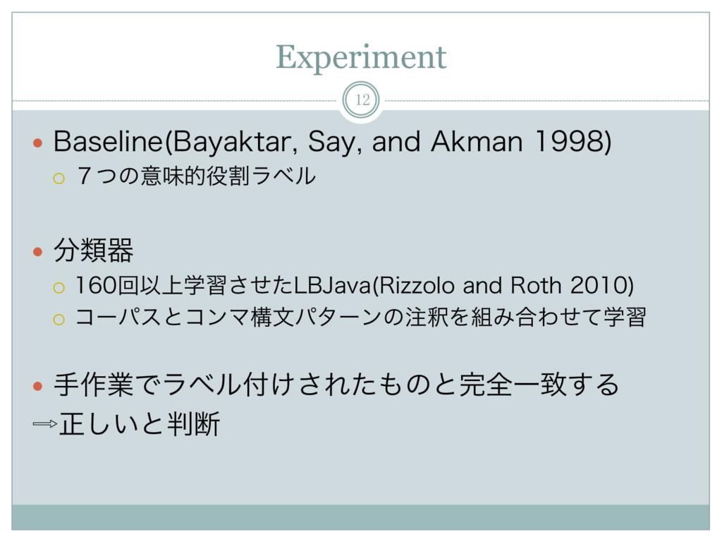 """Experiment 12 — #BTFMJOF #BZBLUBS4BZBOE""""L..."""