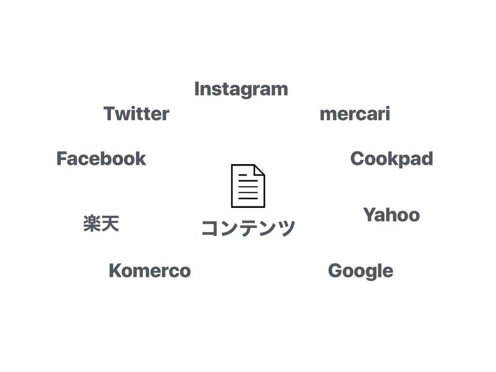 ίϯςϯπ Instagram Twitter Facebook mercari Cookpa...