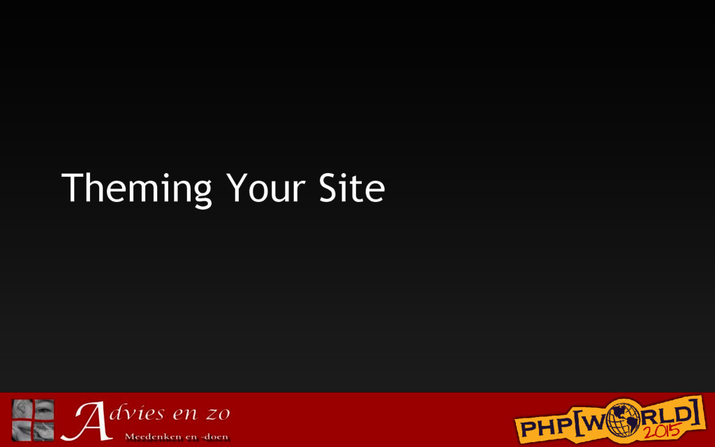 Theming Your Site