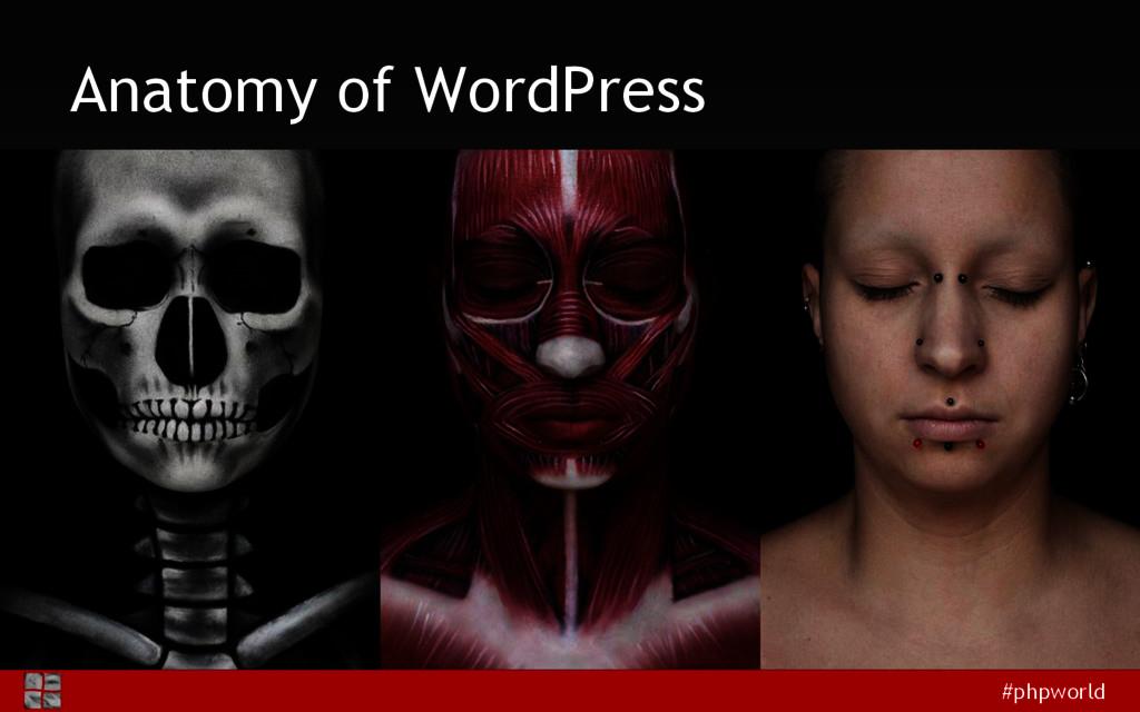 #phpworld Anatomy of WordPress
