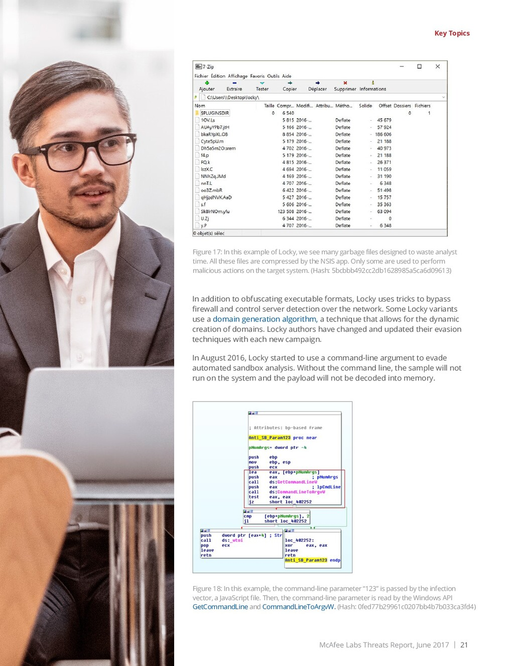 McAfee Labs Threats Report, June 2017 | 21 Shar...