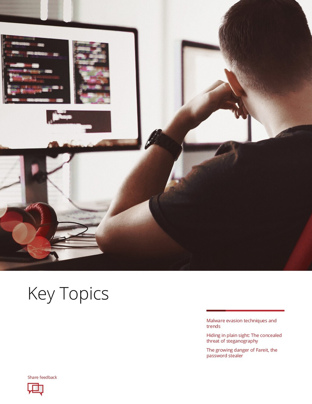 Share feedback Key Topics Malware evasion techn...