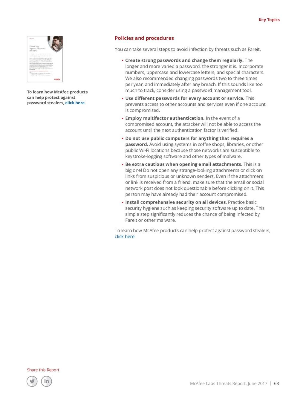 McAfee Labs Threats Report, June 2017 | 68 Shar...