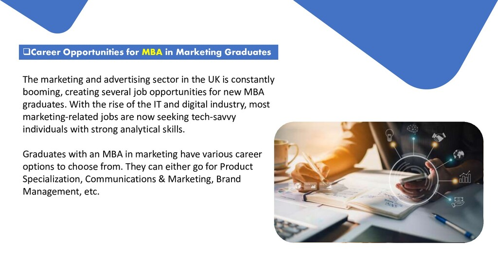 Career Opportunities for MBA in Marketing Grad...