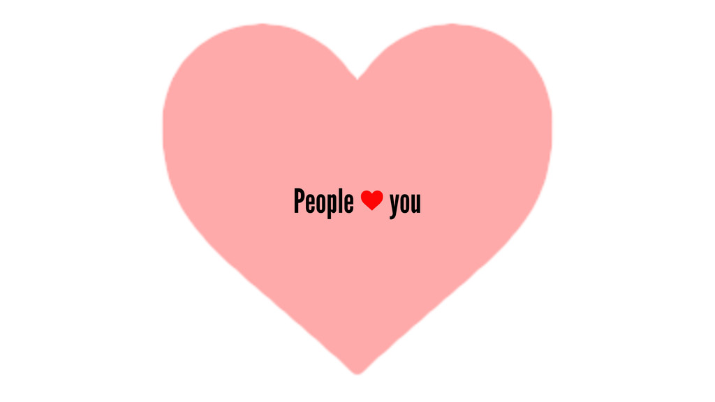 People you