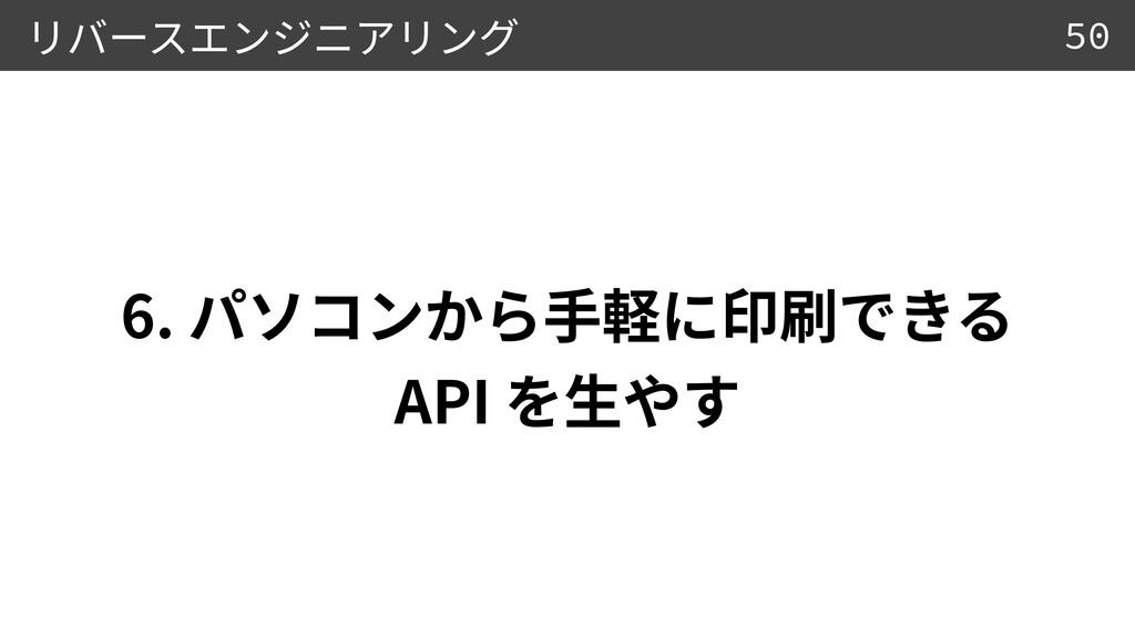 6.  API 50