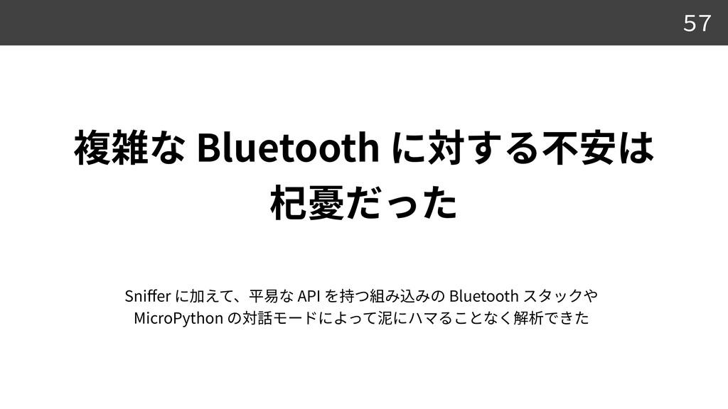 Bluetooth    57 Sni ff er API Bluetooth MicroP...