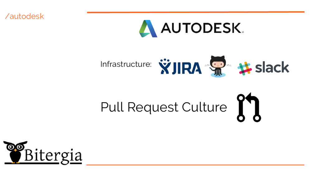 /autodesk Pull Request Culture Infrastructure: