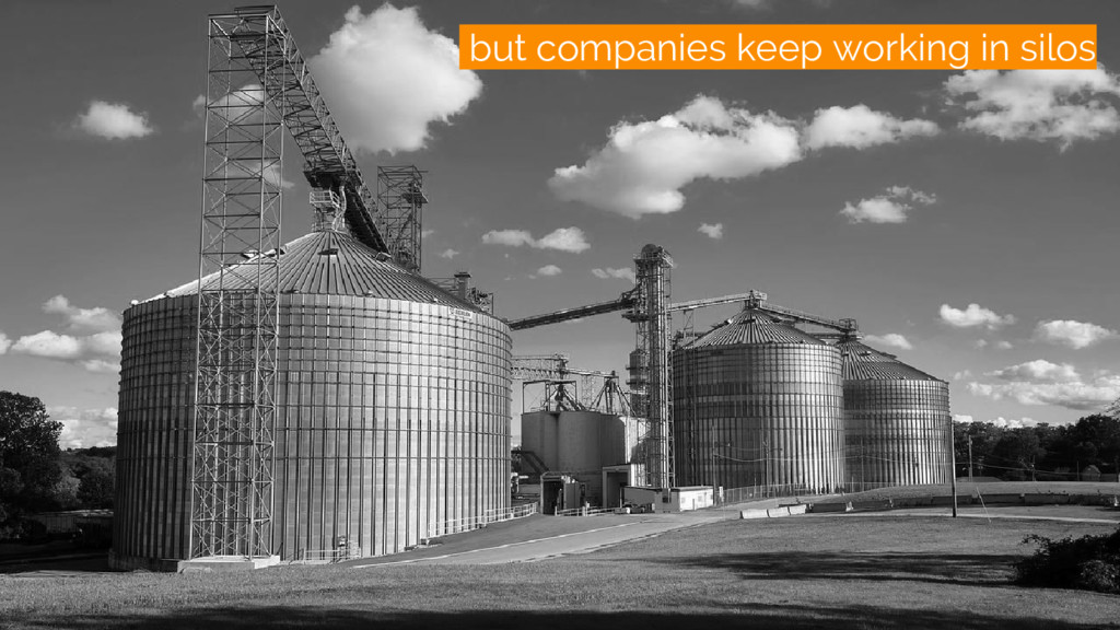 /silos but companies keep working in silos