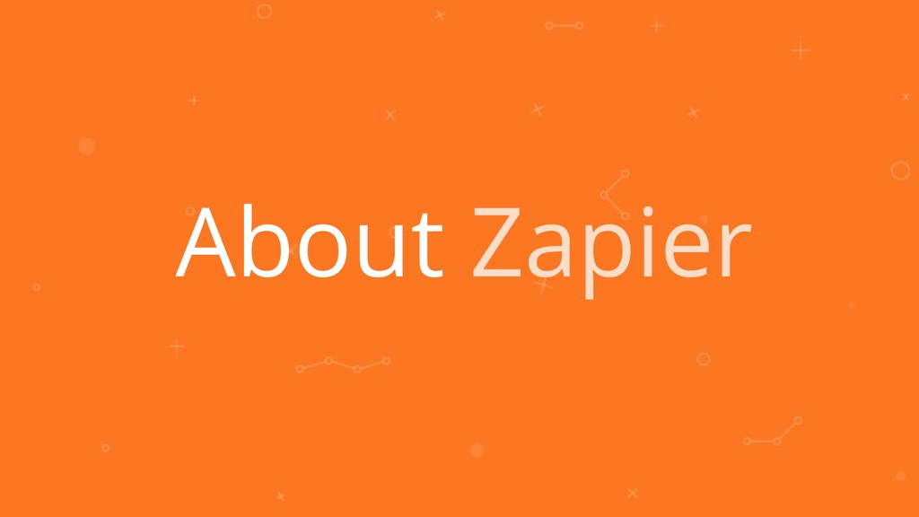 About Zapier
