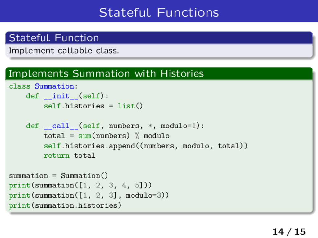 Stateful Functions Stateful Function Implement ...