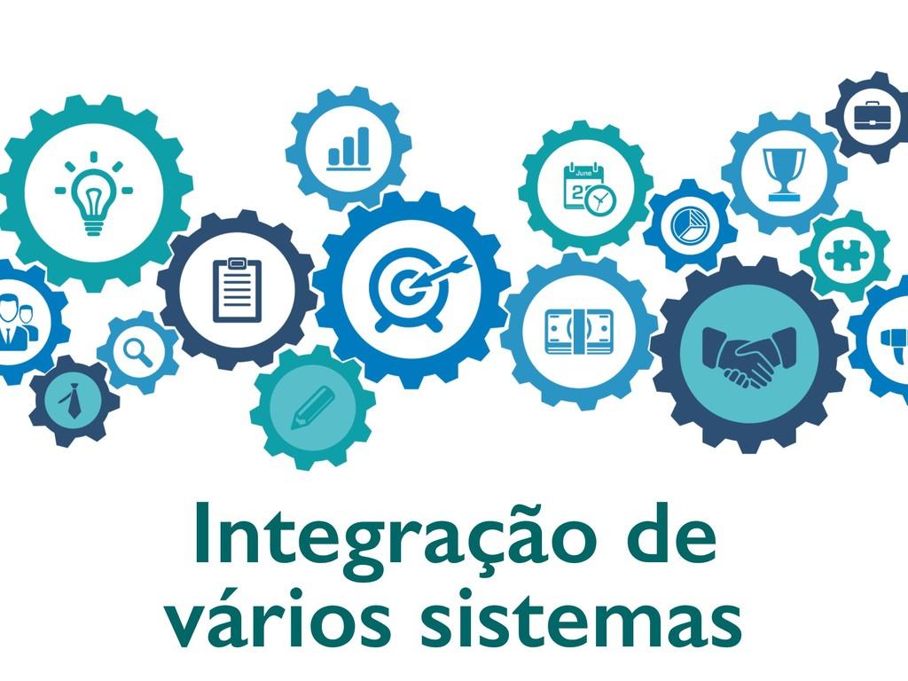 Integração de vários sistemas