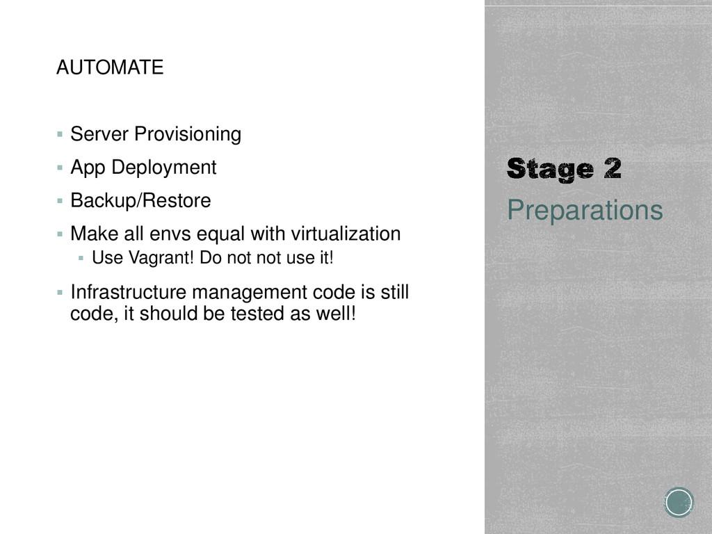 AUTOMATE  Server Provisioning  App Deployment...