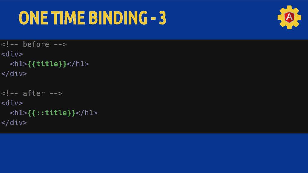 ONE TIME BINDING - 3
