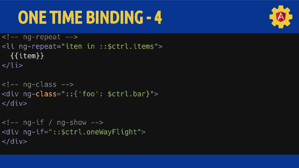 ONE TIME BINDING - 4