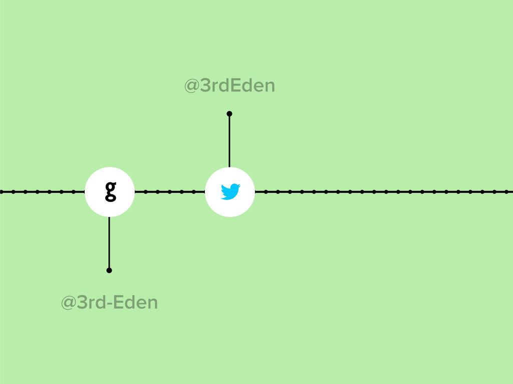   @3rd-Eden @3rdEden