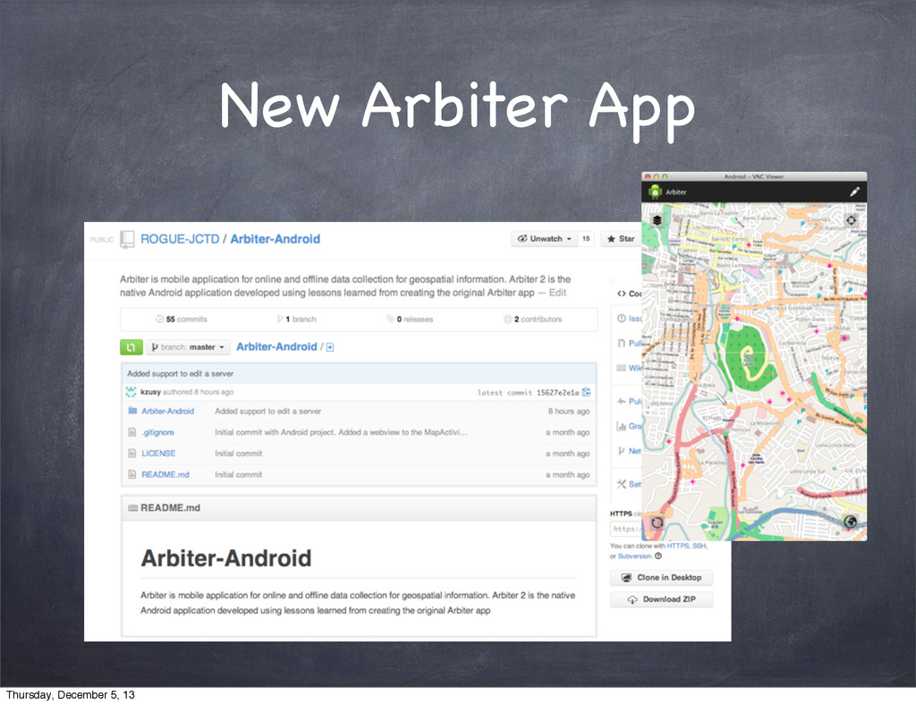 New Arbiter App Thursday, December 5, 13