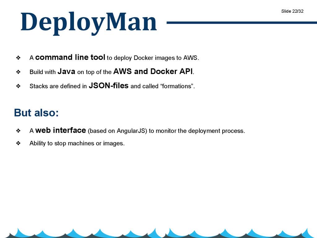 DeployMan ❖ A command line tool to deploy Docke...