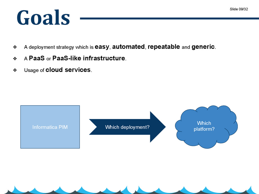 Goals ❖ A deployment strategy which is easy, au...