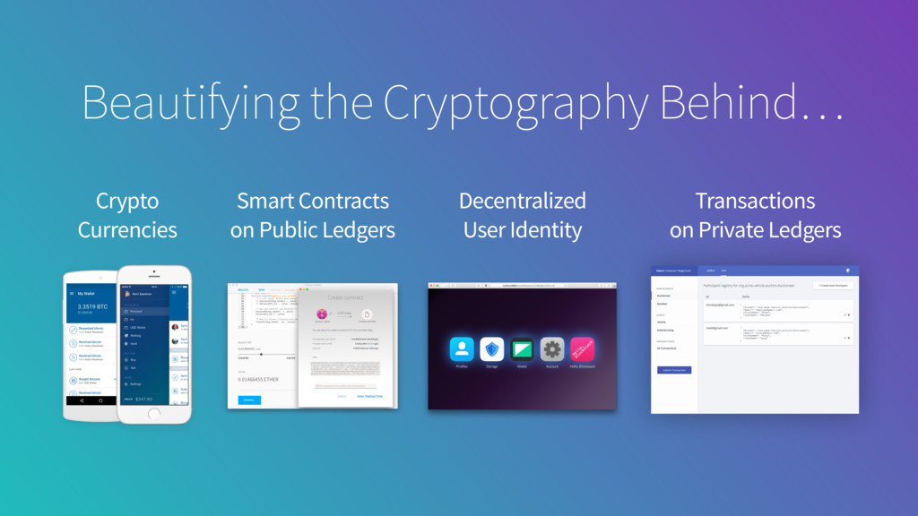Beautifying the Cryptography Behind… Crypto Cur...
