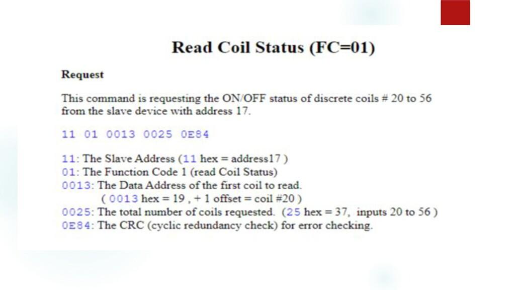Read Coil Status