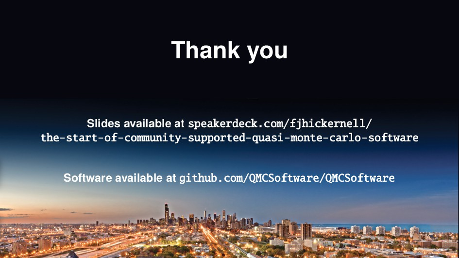 Thank you Slides available at speakerdeck.com/f...