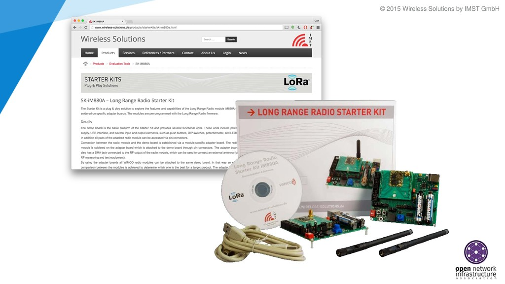 © 2015 Wireless Solutions by IMST GmbH
