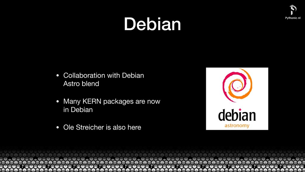 Debian • Collaboration with Debian Astro blend ...