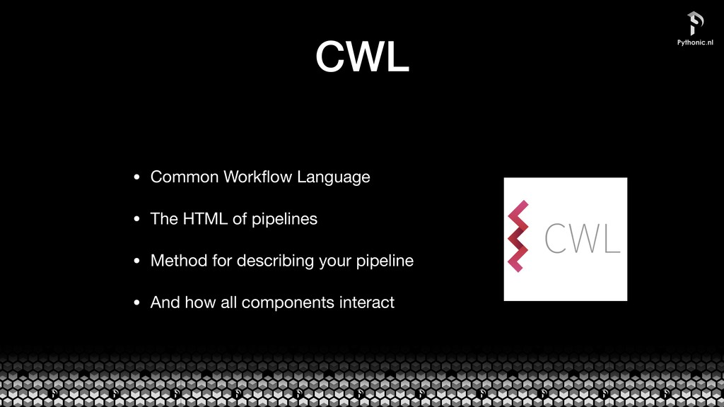 CWL • Common Workflow Language  • The HTML of pi...
