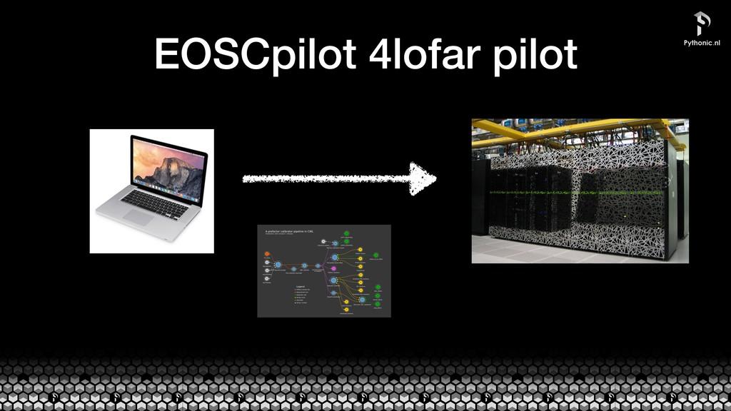 EOSCpilot 4lofar pilot