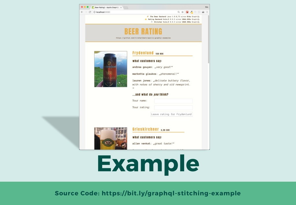 Example Source Code: https://bit.ly/graphql-sti...