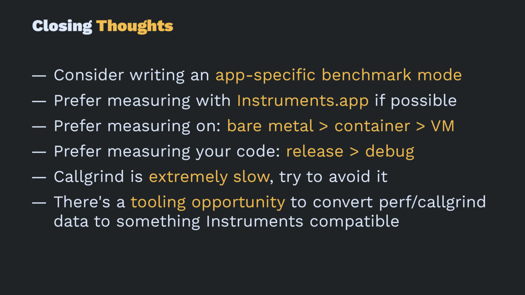Closing Thoughts — Consider writing an app-spec...
