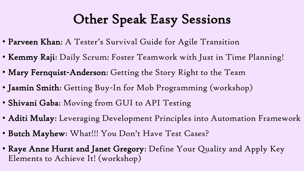 Other Speak Easy Sessions • Parveen Khan: A Tes...