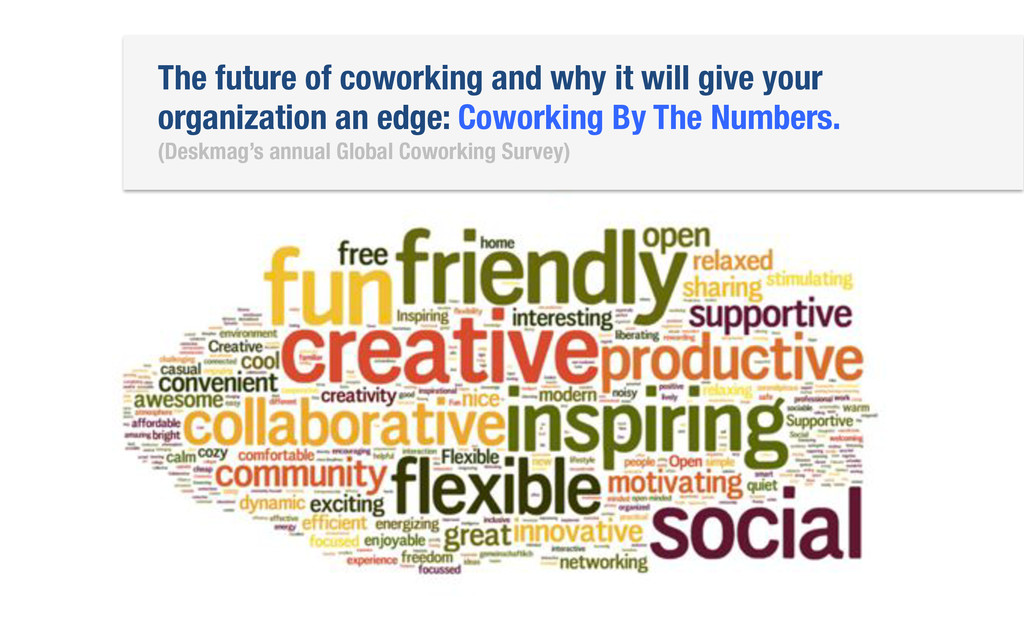 The future of coworking and why it will give yo...