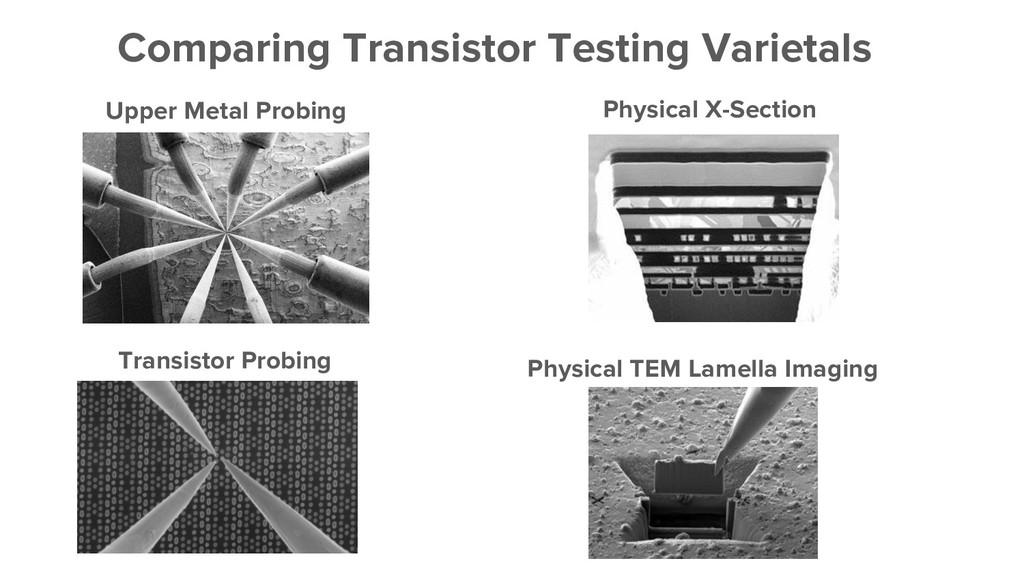 Comparing Transistor Testing Varietals Upper Me...
