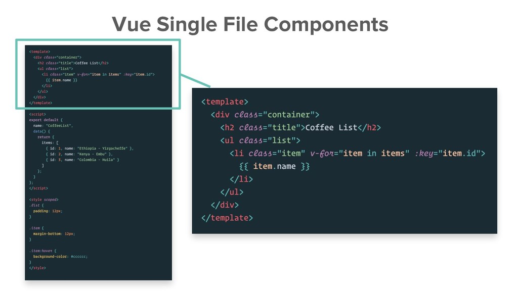 Vue Single File Components