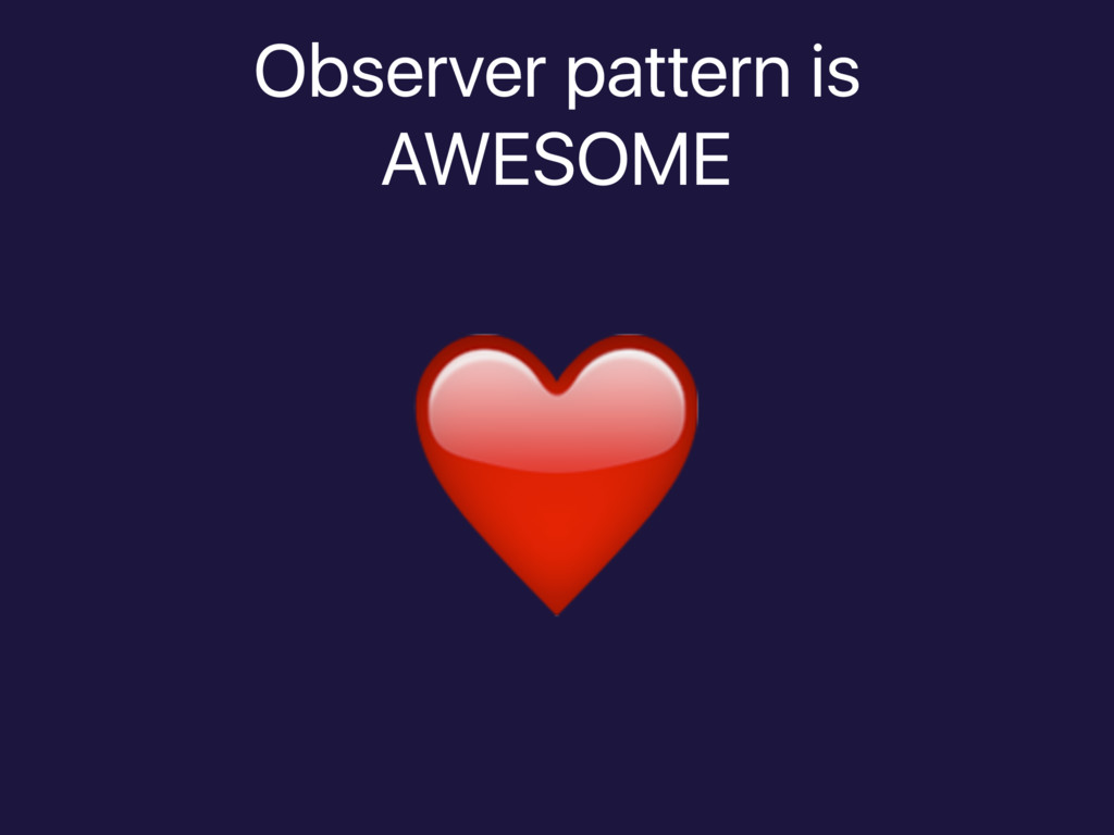 Observer pattern is 