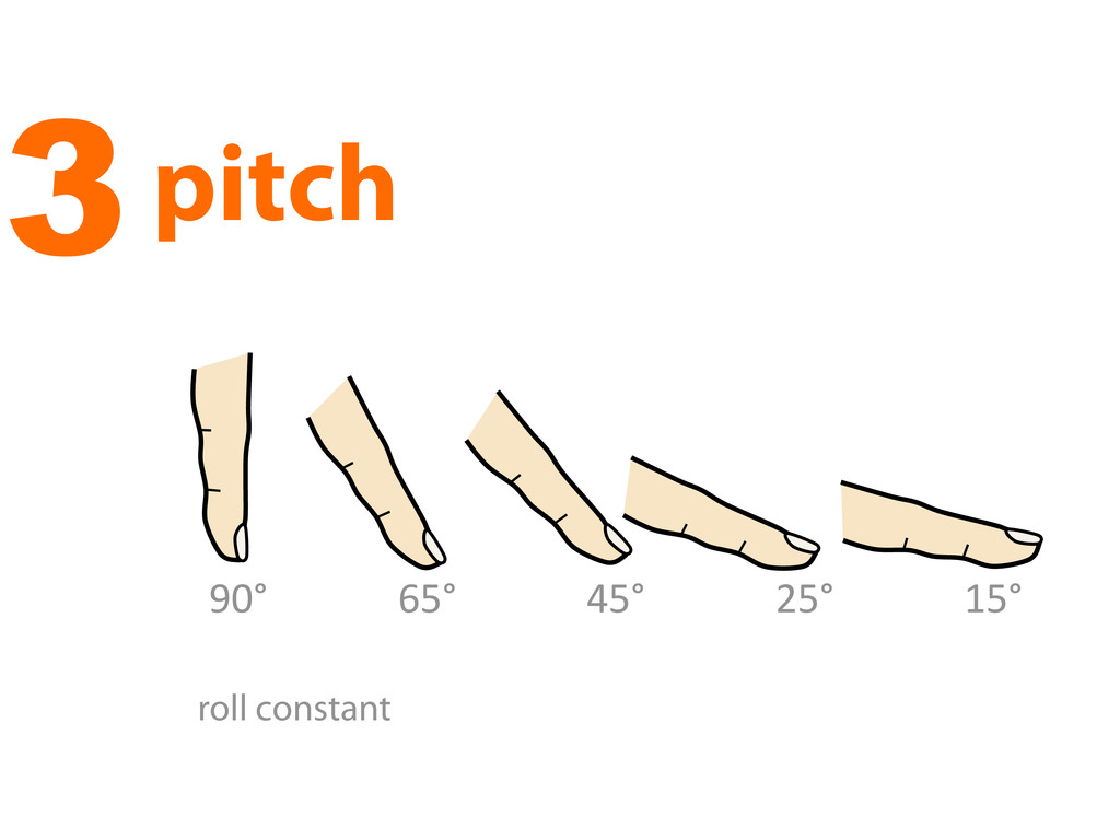 """3pitch !""""# (%# $%# )%# &%# roll constant"""