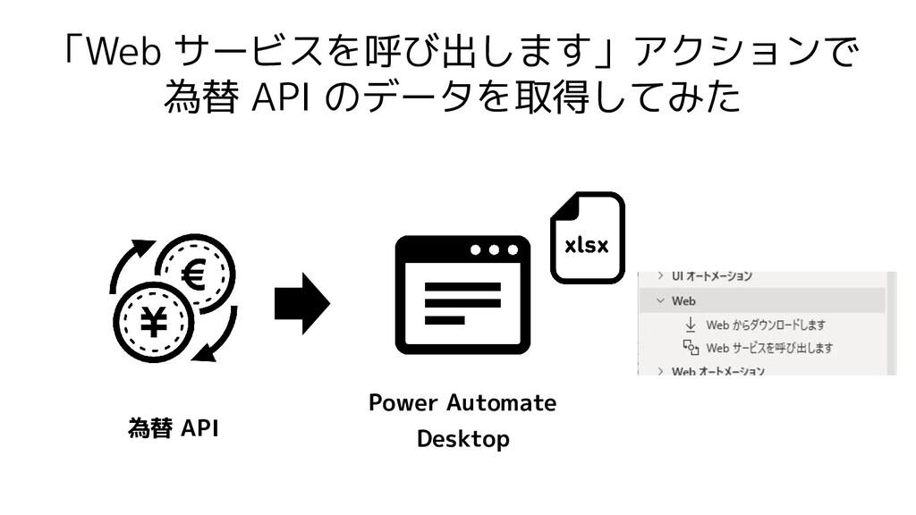 「Web サービスを呼び出します」アクションで 為替 API のデータを取得してみた Powe...