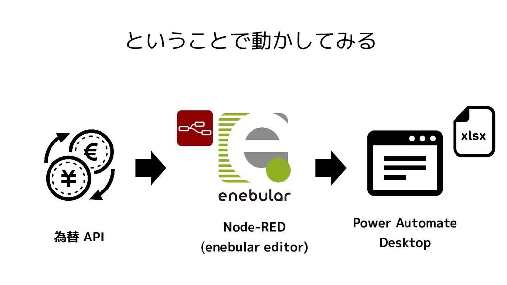ということで動かしてみる Power Automate Desktop Node-RED (e...