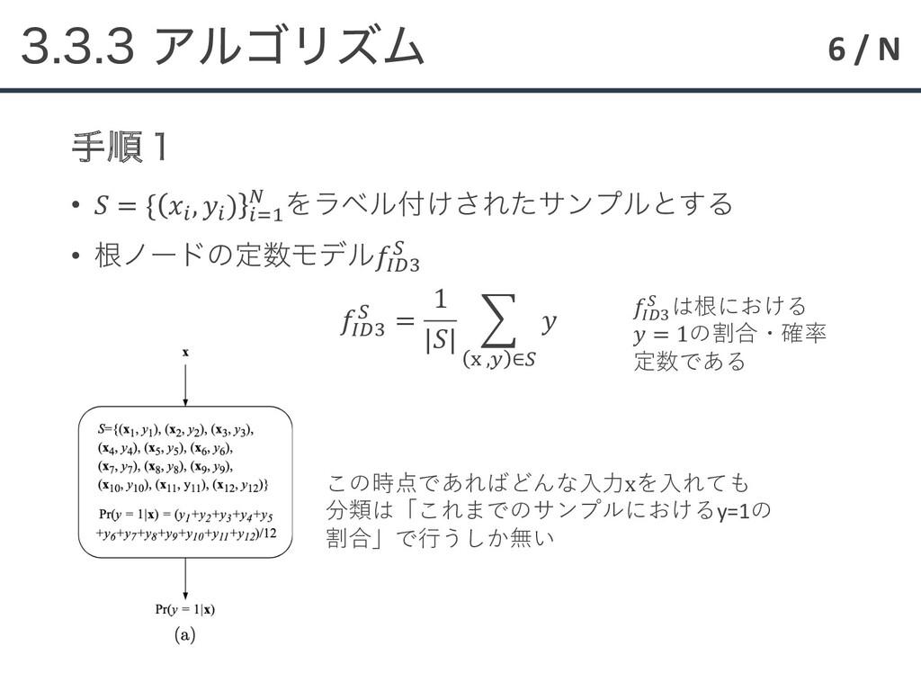 6 / N ΞϧΰϦζϜ खॱ̍ •  = { ! , ! ) !() * Λϥϕ...