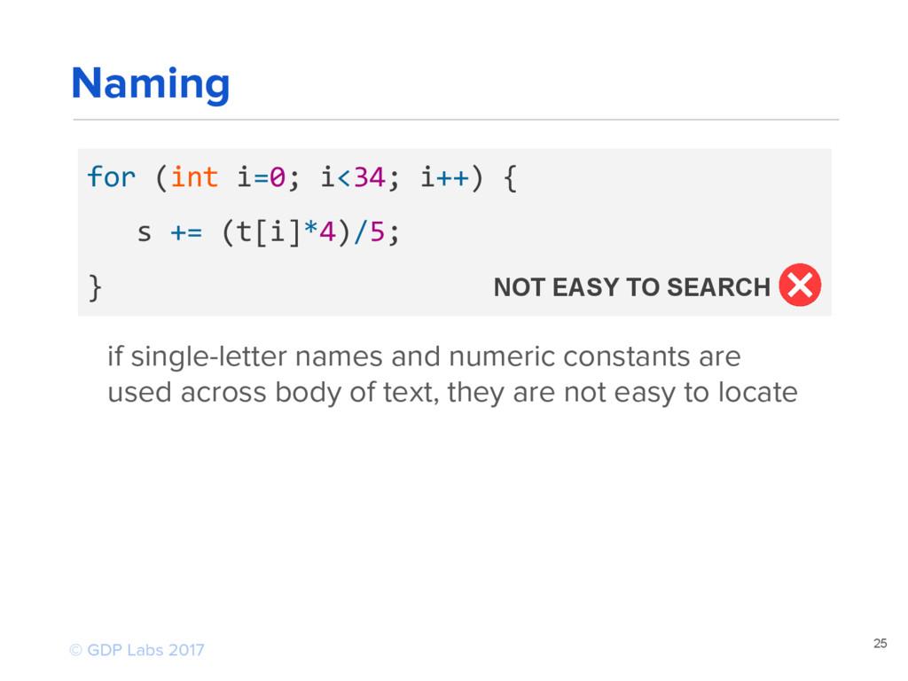 25 for (int i=0; i<34; i++) { s += (t[i]*4)/5; ...