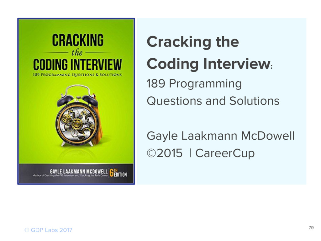Cracking the Coding Interview: 189 Programming ...