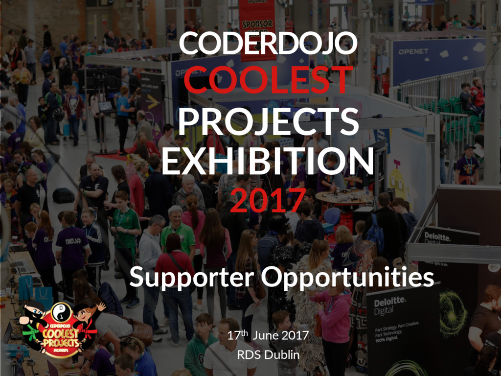 CODERDOJO COOLEST PROJECTS EXHIBITION 2017 1 17...