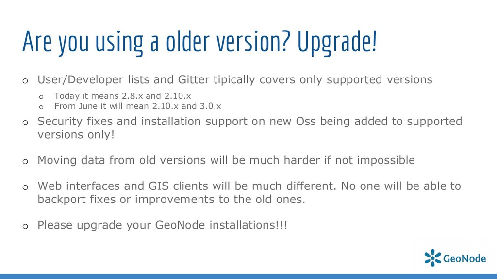 Are you using a older version? Upgrade! o User/...